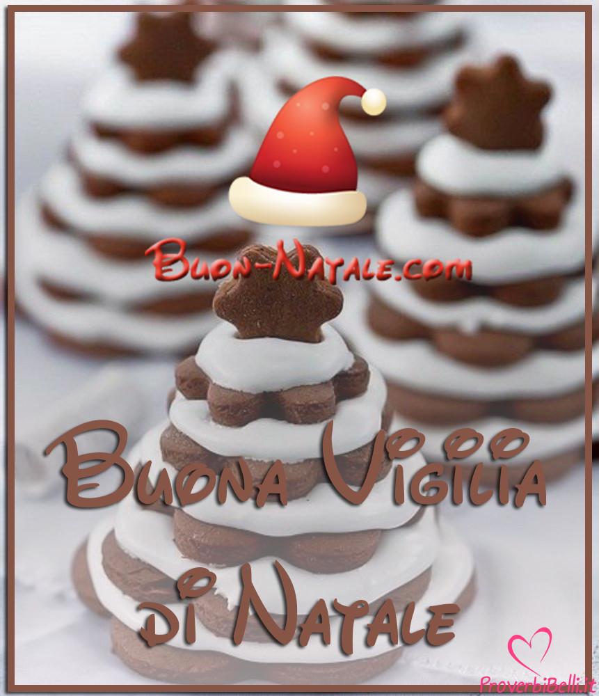 Buon 24 Dicembre Natale Vigilia da Mandare gratis su Whatsapp Facebook