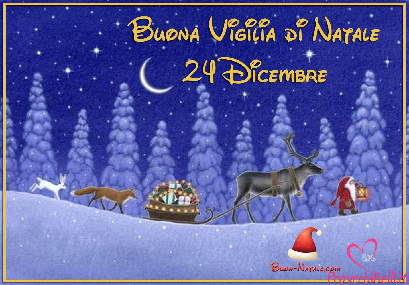 Buona Vigilia Cenone di Natale 24 Dicembre